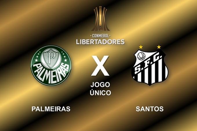 Onde assistir ao vivo Palmeiras x Santos na final da Libertadores. Imagem - Divulgação - Conmebol