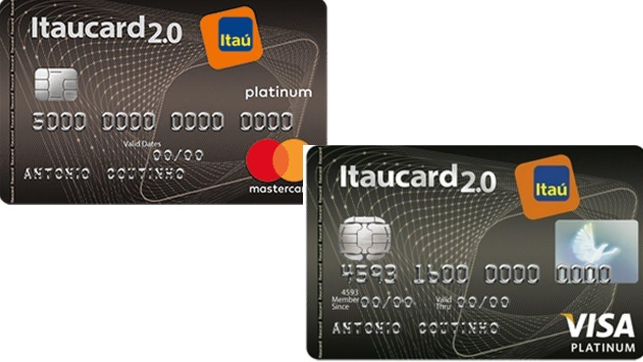 Itaucard 2.0 Platinum tem descontos em lojas e linha de crédito exclusiva