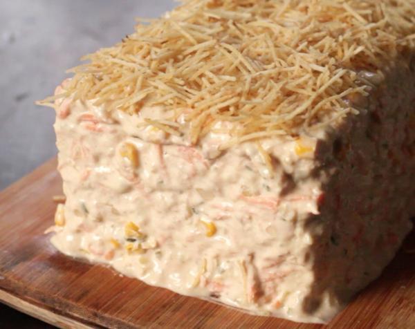 Torta Fria de Pão de Forma para o café da tarde