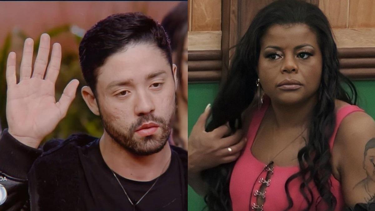 Rico Melquiades e Tati Quebra Barraco (Foto: Reprodução/RecordTV)