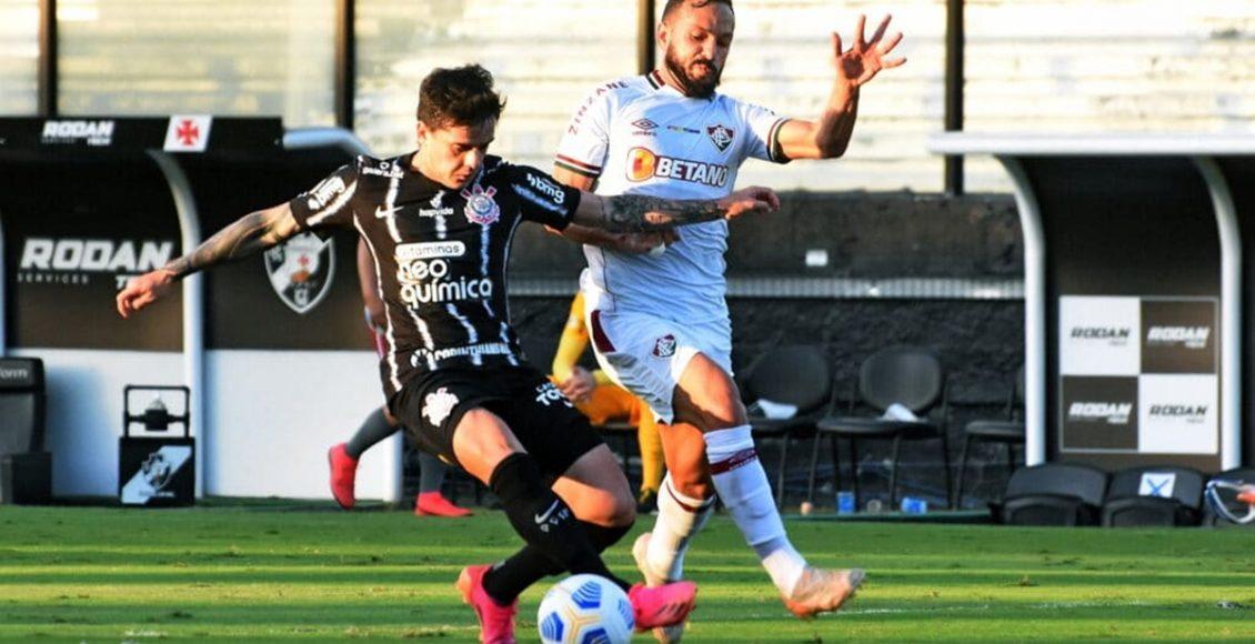 Corinthians e Fluminense travam duelo no Brasileirão. Foto: Mailson Santana / FFC